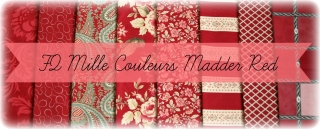 FQ Mille Couleurs Madder Red